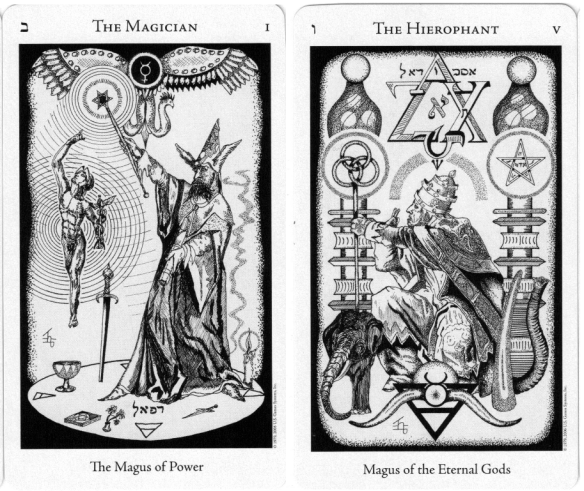 The Hermetic Tarot by Godfrey Dowson: A Powerful Divination