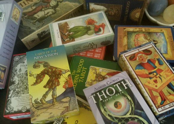 A Tarot Deck Library: The Hobby of Collecting   benebell wen