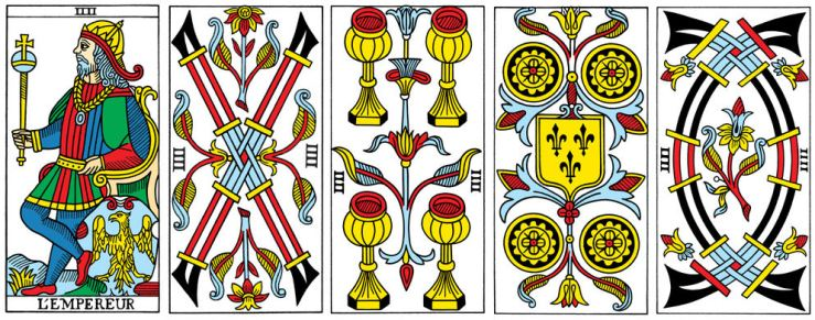 from the CBD Tarot de Marseille by Yoav Ben-Dov (cbdtarot.com)