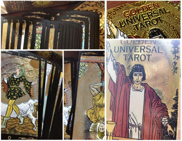 Golden Universal Tarot - snapshots