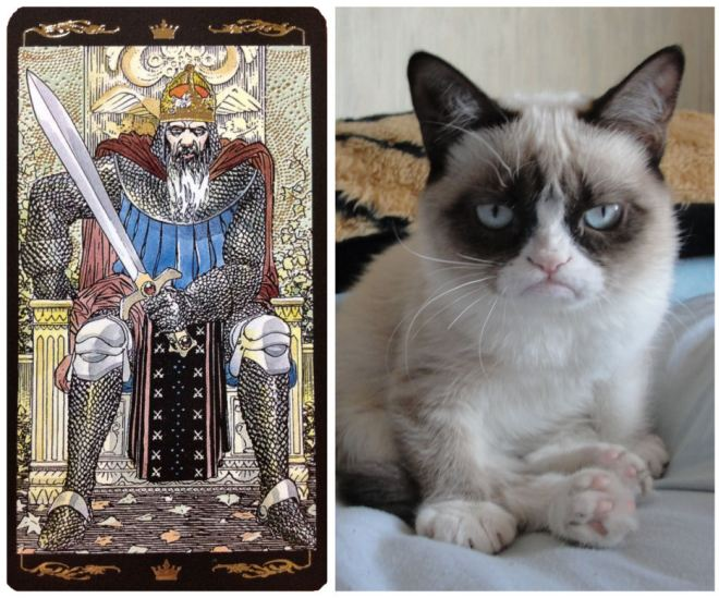 King_of_Swords_Grumpy_Cat