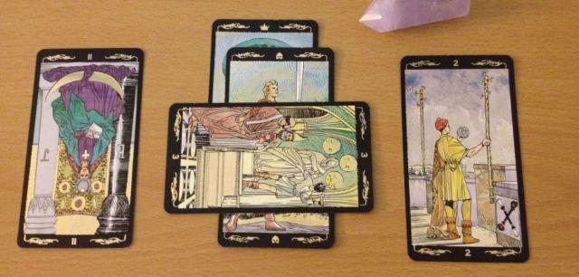 Basic 4 Card Spread.