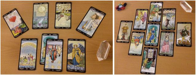 "Have at least 2 ""specialty spreads"" in your tarot reading repertoire at any time."