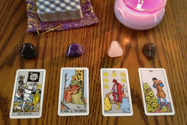 05 Four Card Draw (General Reading)