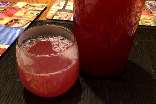 final pomegranate juice tea