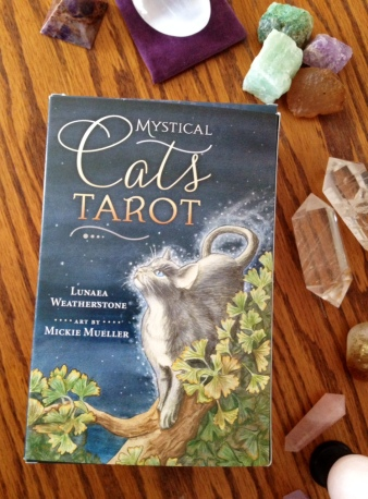 Mystical Cats Tarot 01 Box Cover