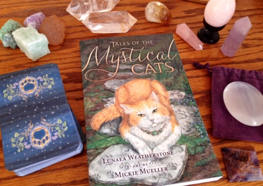 Mystical Cats Tarot 03 Book and Cards