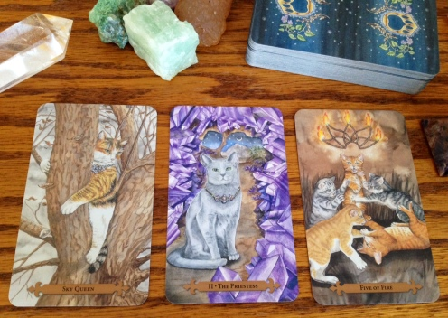 Mystical Cats Tarot 05 Card Samples