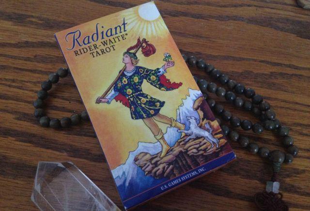 01 Radiant Rider Waite deck