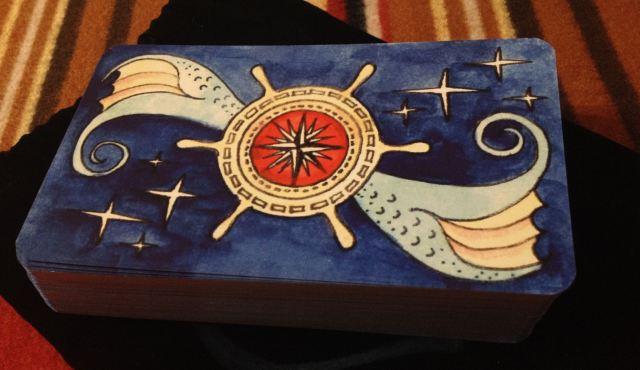 Dame Darcy - Mermaid Tarot Deck Back Side