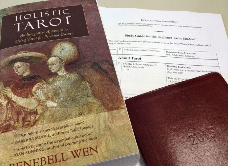 Holistic Tarot by Benebell Wen Beginner Study Guide 2