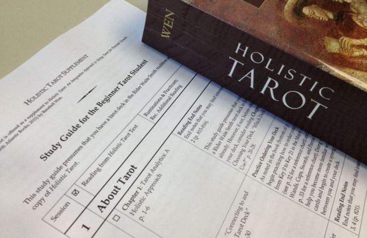 Holistic Tarot by Benebell Wen Beginner Study Guide 3