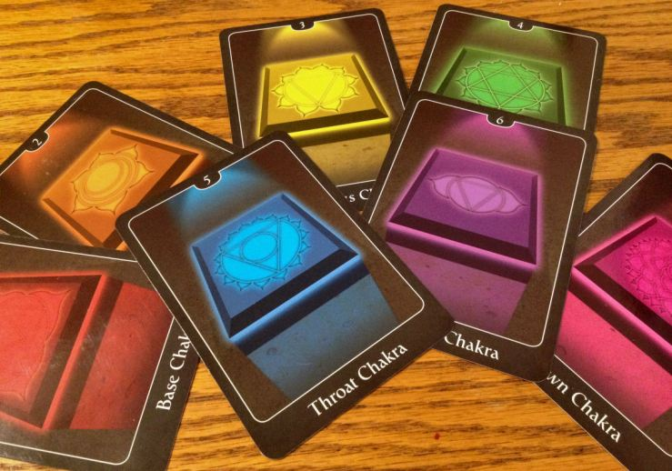 The chakra cards in the Psychic Tarot for the Heart, in lieu of the Tarot Courts.