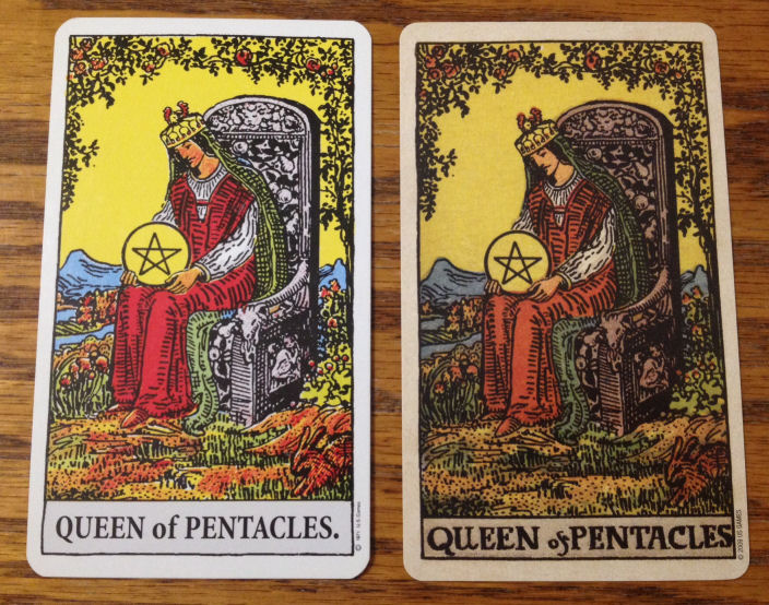 compare - Queen of Pentacles front