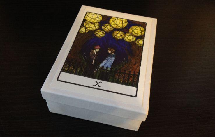 Efflorescent Tarot Review 01 Box Exterior