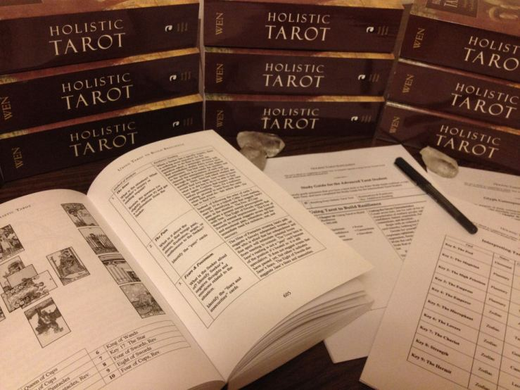 Holistic Tarot Study Guides Advanced 4
