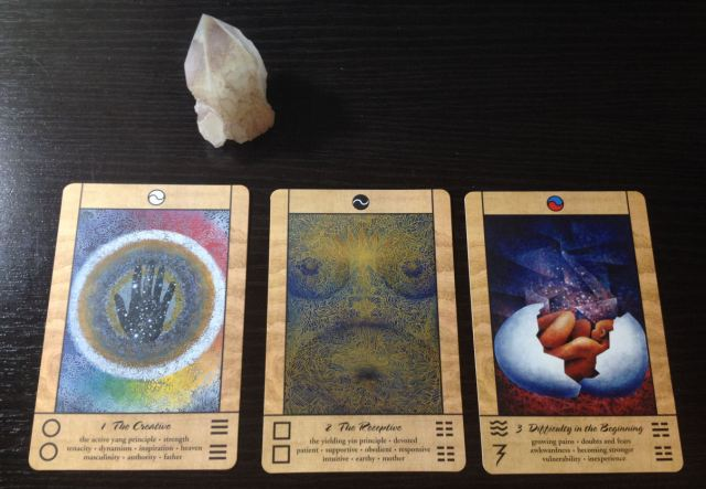 Tao Oracle Deck 01 First Three