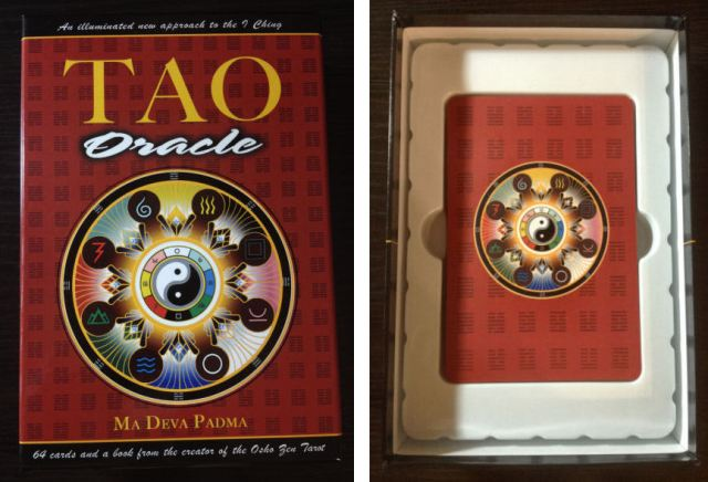Tao Oracle Deck 02 Packaging