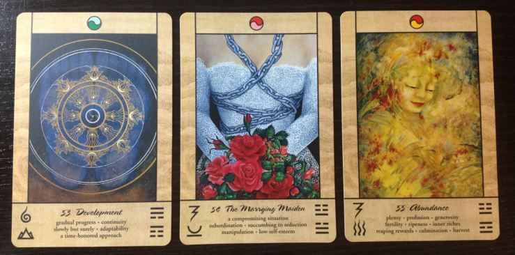 Tao Oracle Deck 15 Cards