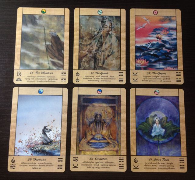 Tao Oracle Deck 16 Cards