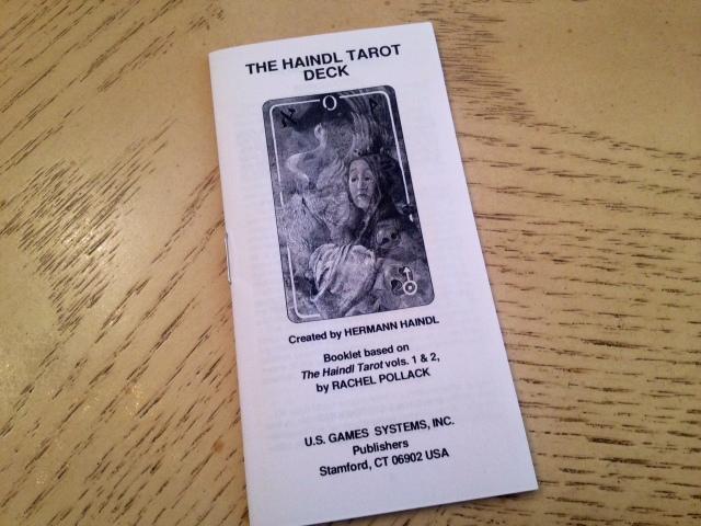 Haindl Tarot - 11 LWB