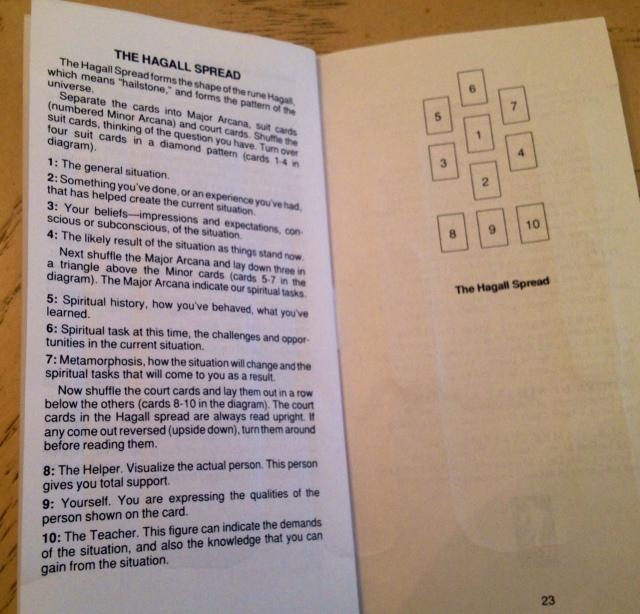 Haindl Tarot - 15 LWB Pages Hagall Spread