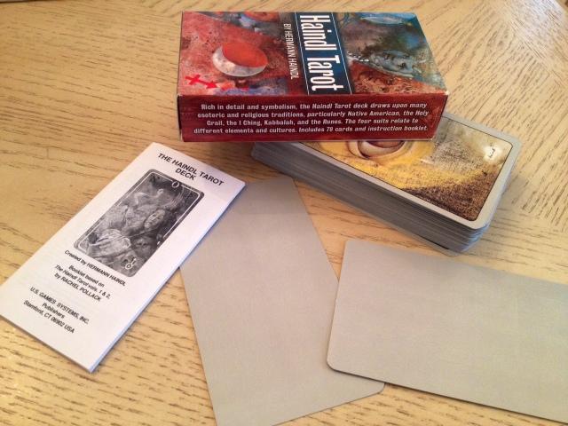 Haindl Tarot - 16 Deck Set with Blank Cards