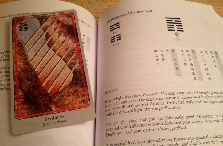 Haindl Tarot - I Ching Book Compare 02 Great