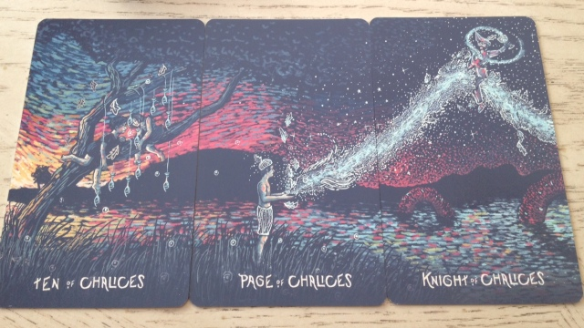 13 Prisma Visions Tarot - Chalices Pips and Court