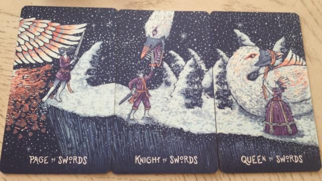15 Prisma Visions Tarot - Swords Courts