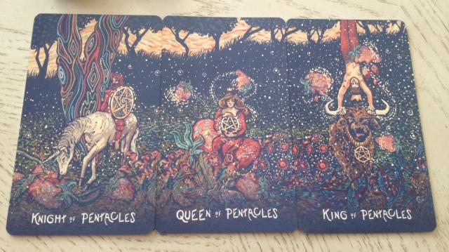 18 Prisma Visions Tarot - Pentacles Court