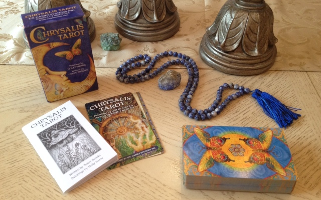 Chrysalis Tarot 01 Box and Deck Set