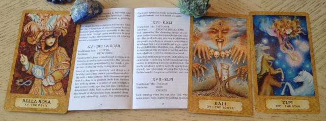 Chrysalis Tarot 08 Key 15 16 17 LWB