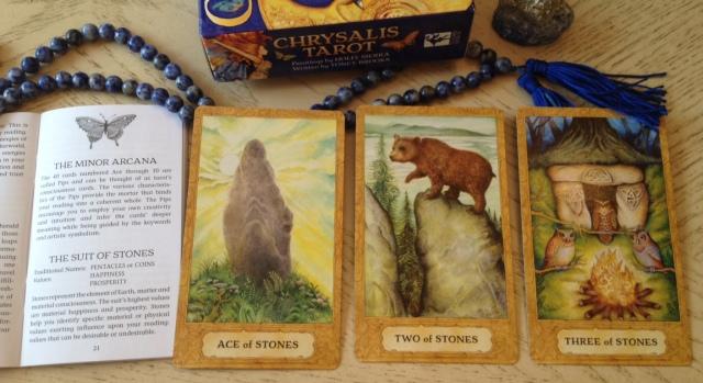 Chrysalis Tarot 11 Stones (Pentacles) 123