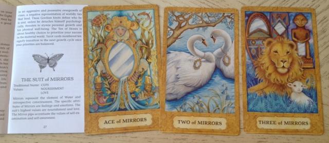 Chrysalis Tarot 14 Mirrors (Cups) 123