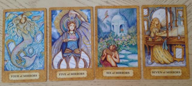 Chrysalis Tarot 15 Mirrors (Cups) 4567