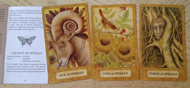 Chrysalis Tarot 16 Spirals (Wands) 123