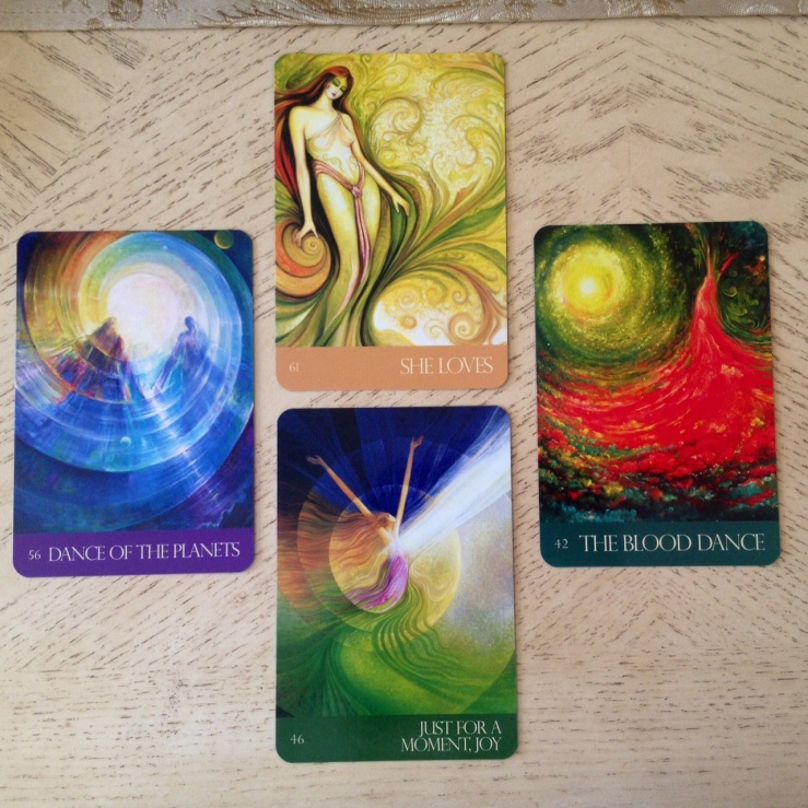 Journey of Love Oracle 09 Reading Cards