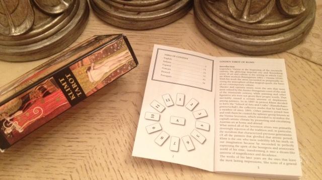 Klimt Tarot 05 LWB