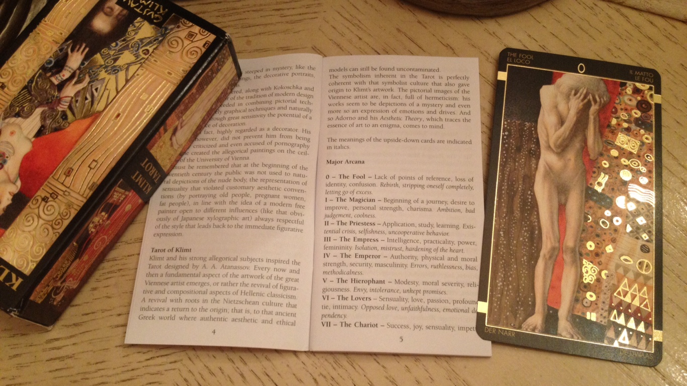 Golden tarot of klimt deck review benebell wen klimt tarot 06 lwb buycottarizona