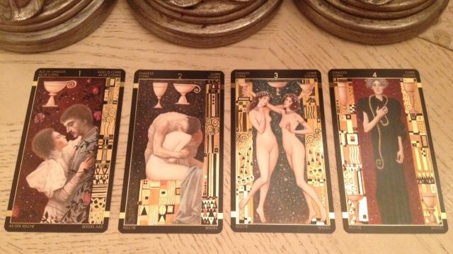 Klimt Tarot 10 Chalices