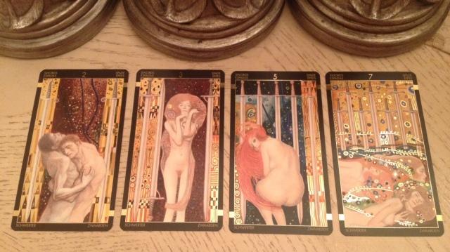 Klimt Tarot 16 Wands