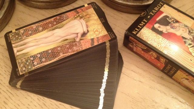 Klimt Tarot 20 Cool Gold Gilding