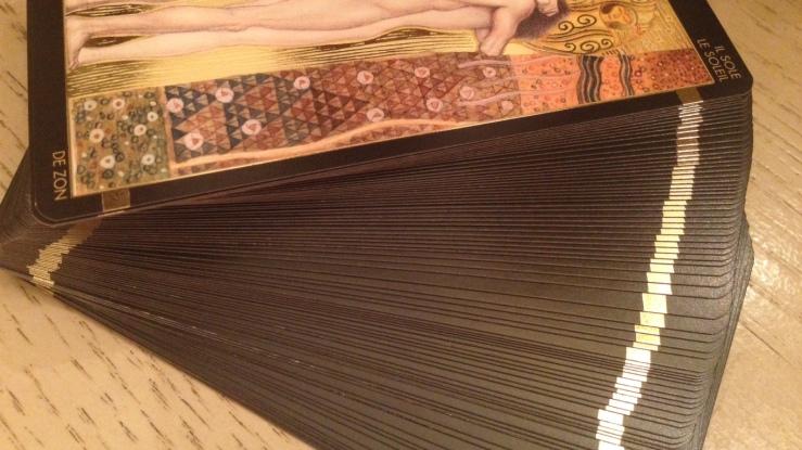 Klimt Tarot 21 Gold Gilidng