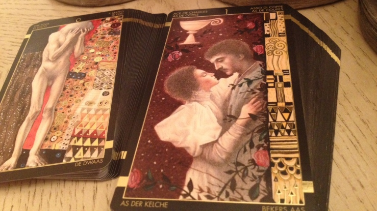 Klimt Tarot 23 Spread Separate Majors Minors