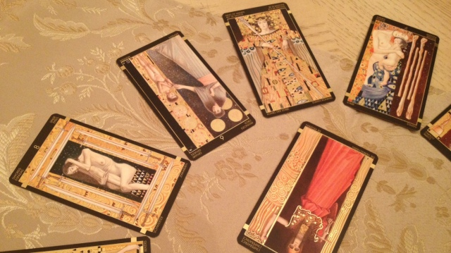 Klimt Tarot 27 Spread Read Part 1