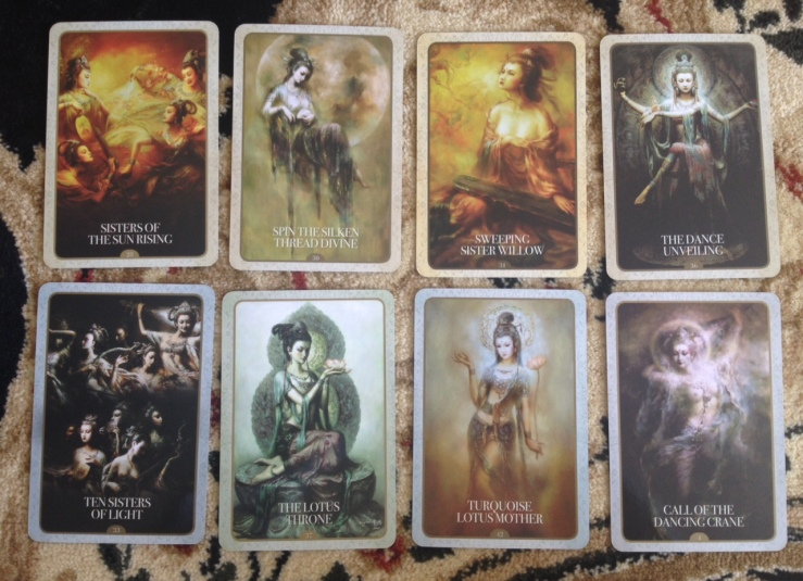 Kuan Yin Oracle Deck - 04 Sample Cards