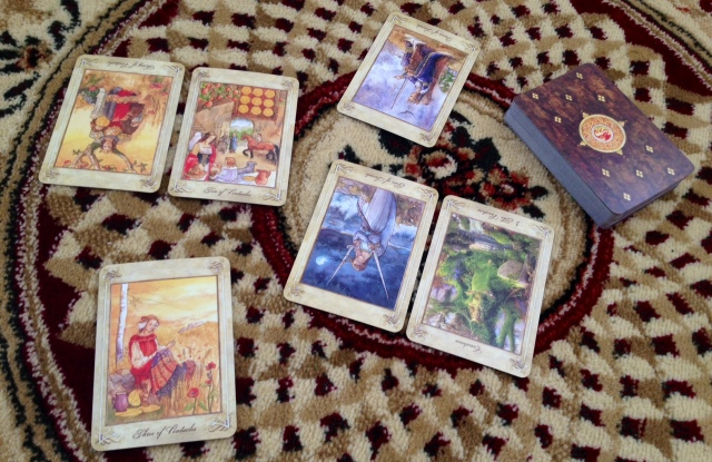 LlewellynTarot_Reading_Pairing