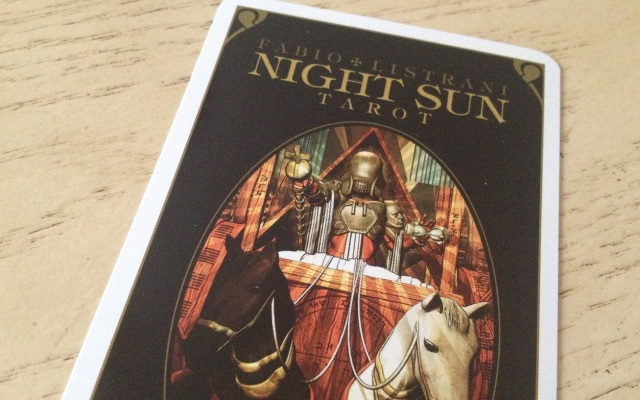Night Sun Tarot 01 Cover Carda