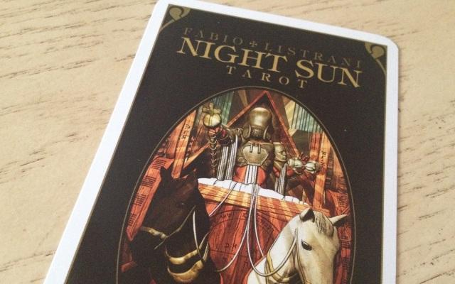 Night Sun Tarot 01 Cover Carda